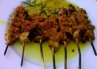 Resep Sate Tuna Bumbu Manado