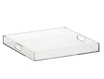 SANITY FAIR: CONTAINER STORE HACK: MAKE YOUR OWN LUCITE TRAY