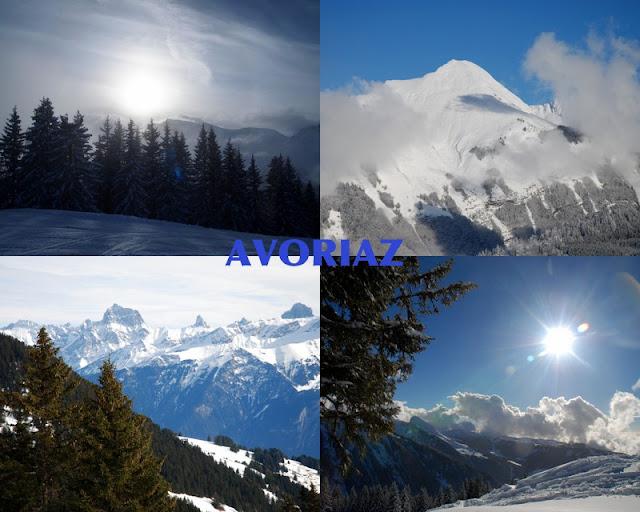 Avoriaz, Los Alpes