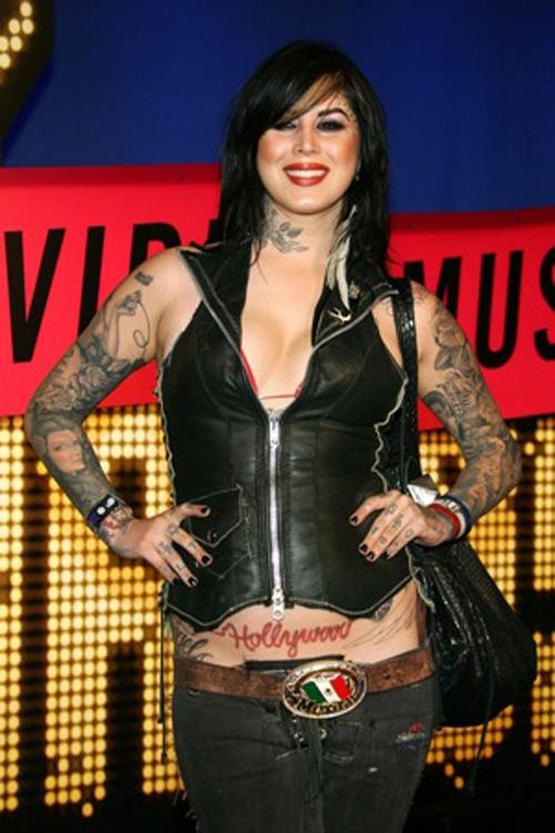 Beauty of kat von d tattoo design