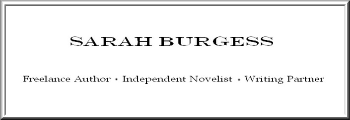 Sarah Burgess Author Page