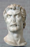 Supuesto retrato de Lucio Cornelio Sila, de época augústea (Gliptoteca de Múnich).