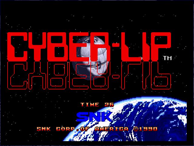cyber lip neo geo