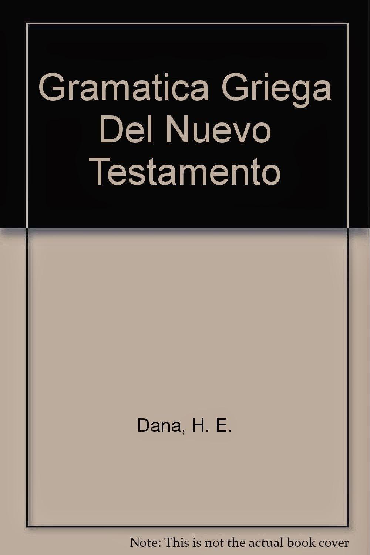 Varios Autores-Gramática Griega Del Nuevo Testamento-