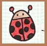 ladybird, lady bug, easy to draw