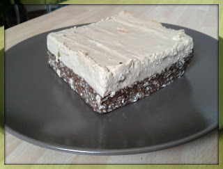Peanut Butter Cheesecake Chocolate Oatmeal Bar
