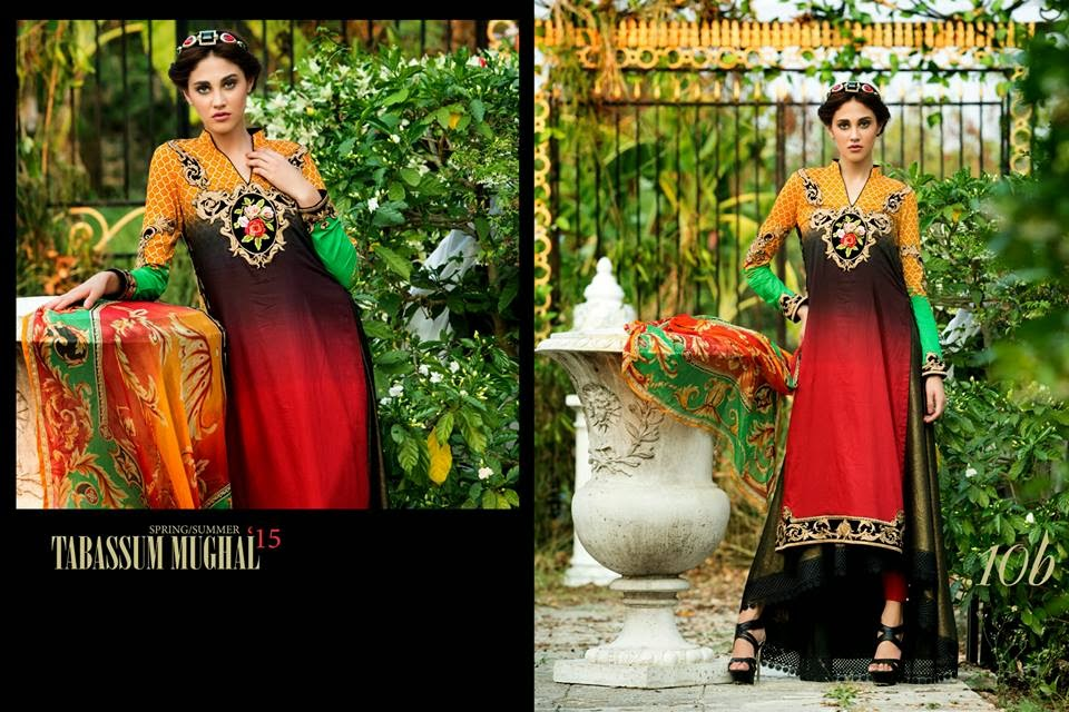 Tabassum Mughal 2015 lawn collection