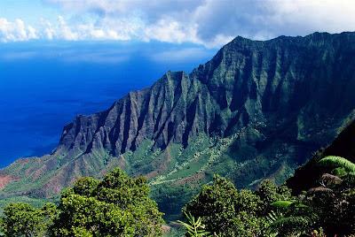 Gambar Pemandangan Alam Waimea Canyon, Kauai