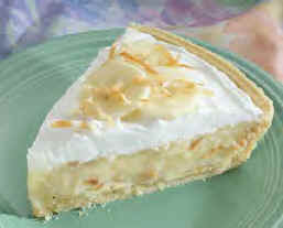 FoodBrag Blog: Coconut Banana Cream Pie