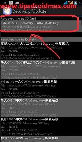 Cara Root Dan Install CWM Advan Vandroid S5D
