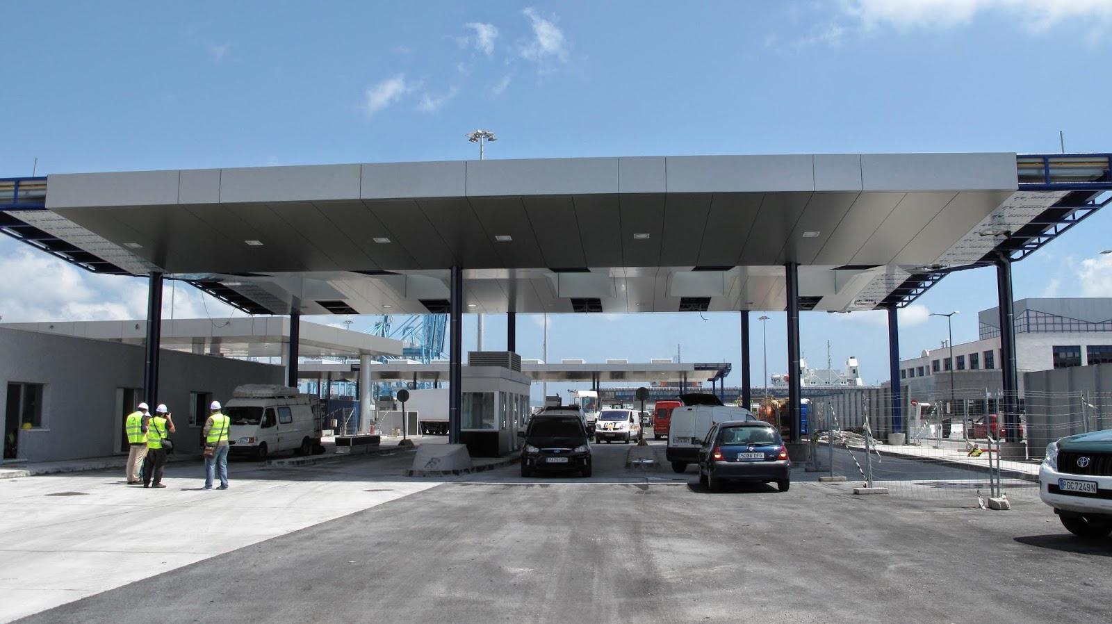 Controles Schengen y check-in Puerto de Algeciras