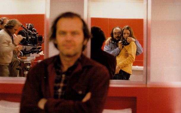 Stanley Kubrick e Jack Nickolson