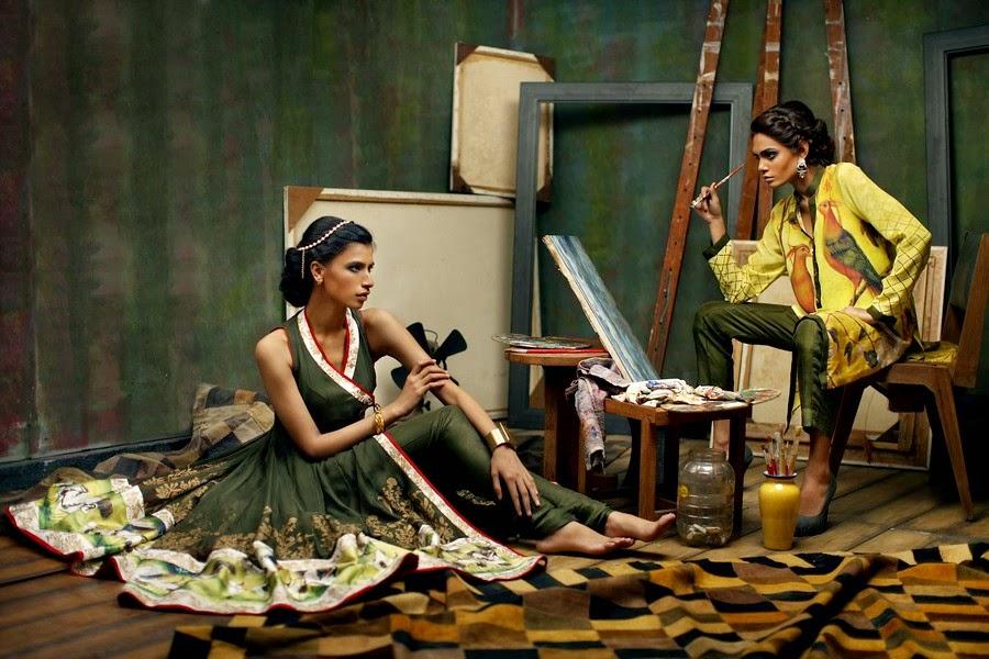 Nida Azwer Eid Collection 2014