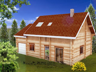Holzskeletthäuser