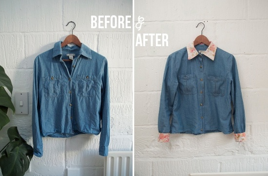 Shirt upcycling