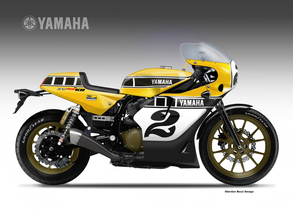 racing caf design corner yamaha xv 950 kr yard built. Black Bedroom Furniture Sets. Home Design Ideas