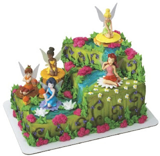 Amazing Tinkerbell Birthday Cake