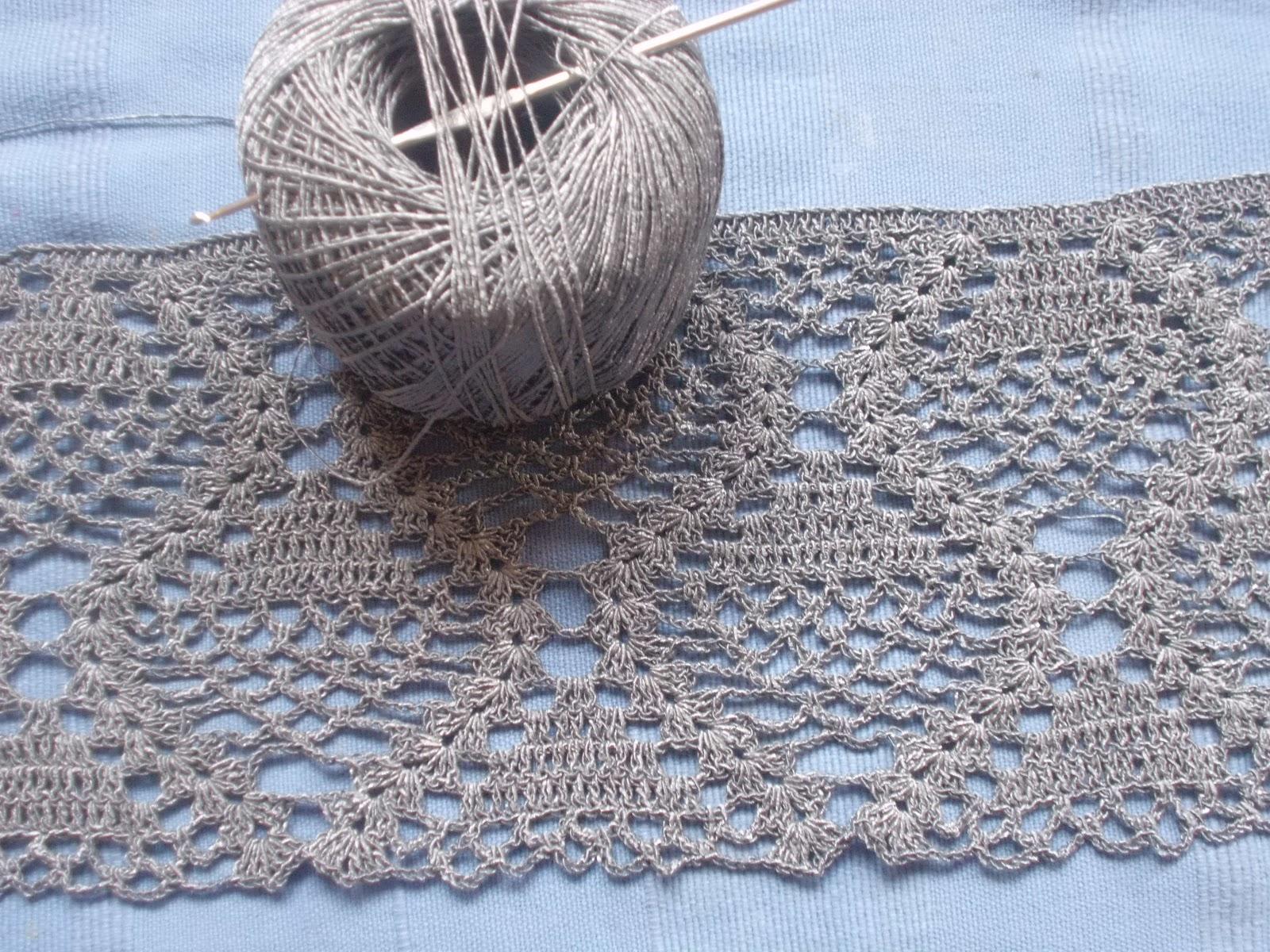 Echarpe crochet