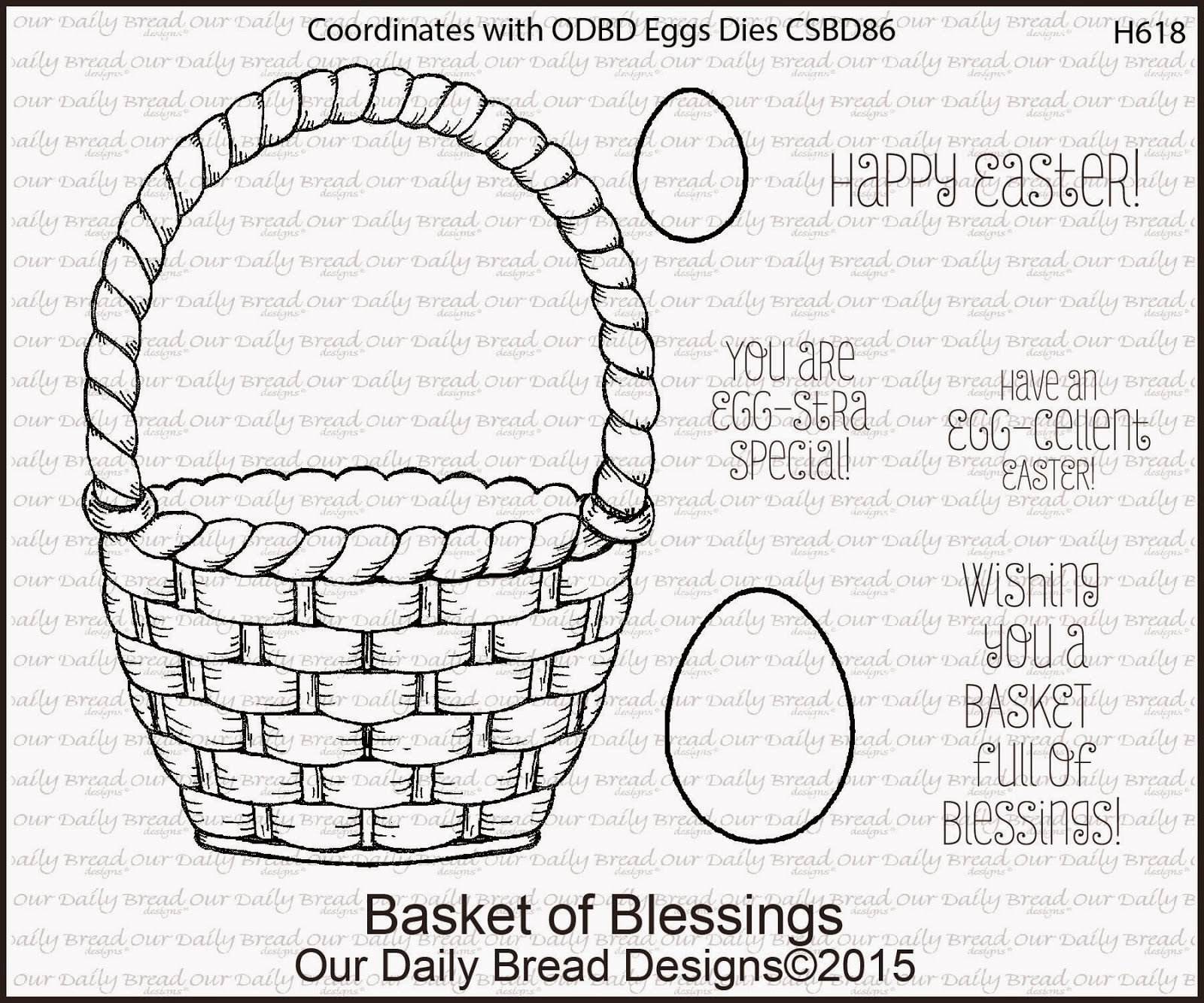 ODBD Basket Of Blessings