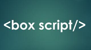 Cara mudah  membuat kotak script di posting blog