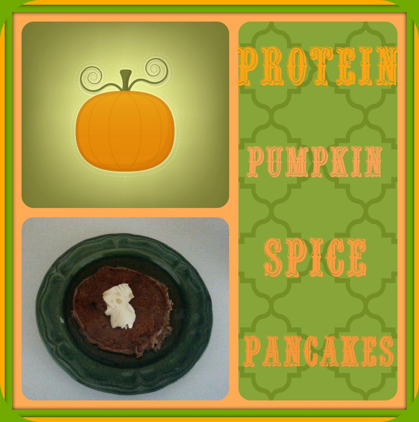 Pati's way thru life: Protein Pumpkin Spice Pancakes
