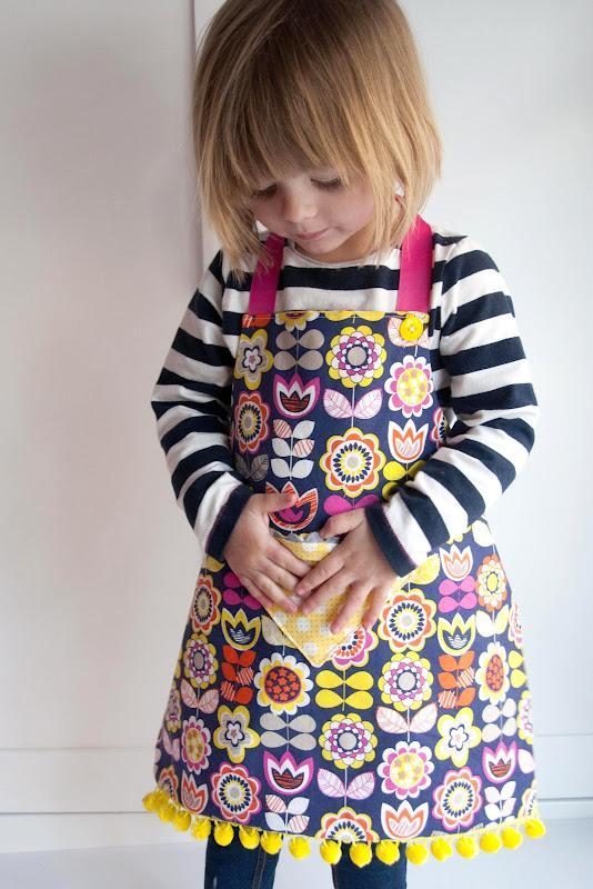 reversible fat quarter apron