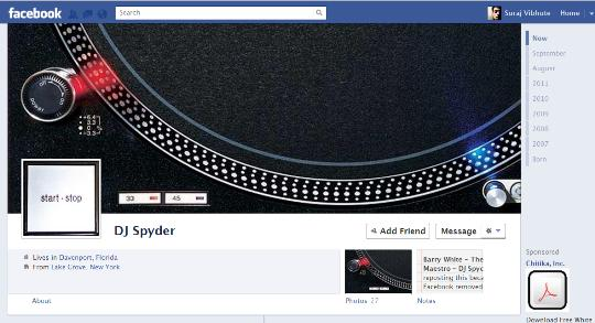 facebook timeline creative profile 12