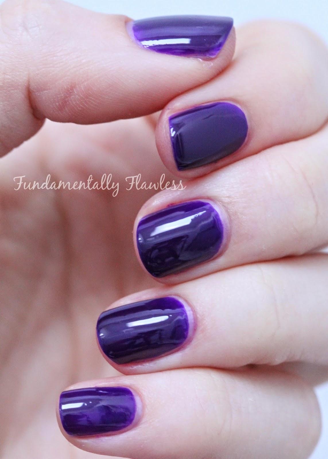 Models Own Autumn Hypergel Pitch Purple swatch
