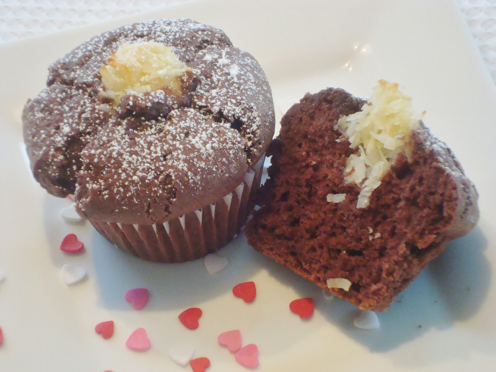Someone's in the Kitchen: Chocolate Coconut Muffins
