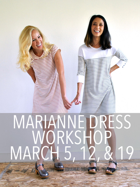 marianne dress class christine haynes sew LA