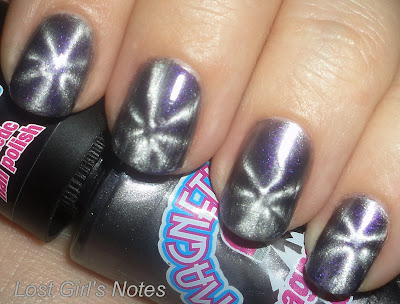 magnetique grey magnetic nail polish swatches and review