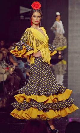 vestidos de flamenca 2014 Lina