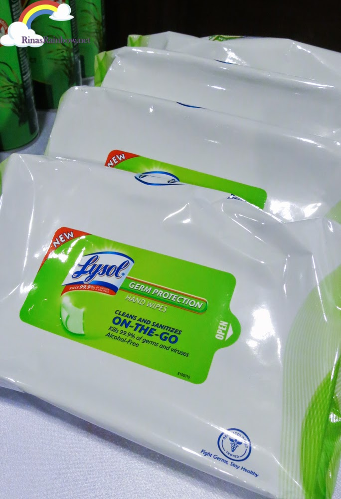 Lysol Hand Wipes large