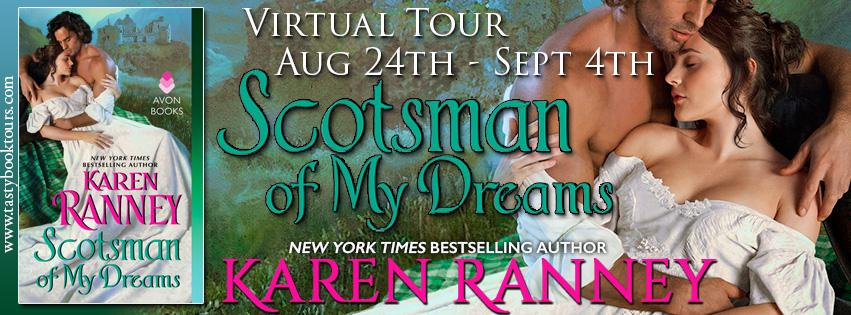 Scotsman Of My Dreams Karen Ranney Tour Amp Giveaway border=