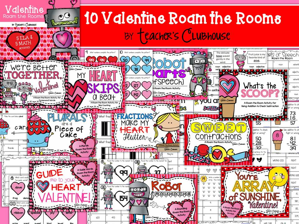 https://www.teacherspayteachers.com/Product/Valentine-Roam-the-Rooms-Unit-from-Teachers-Clubhouse-1662370
