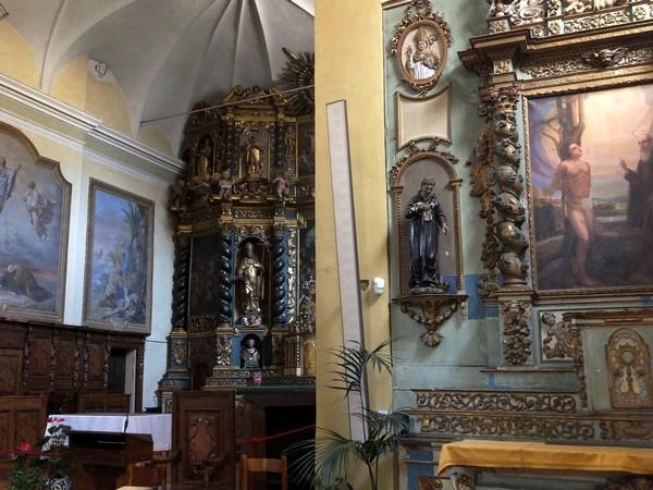 Aoste Aosta Italie église saint-étienne