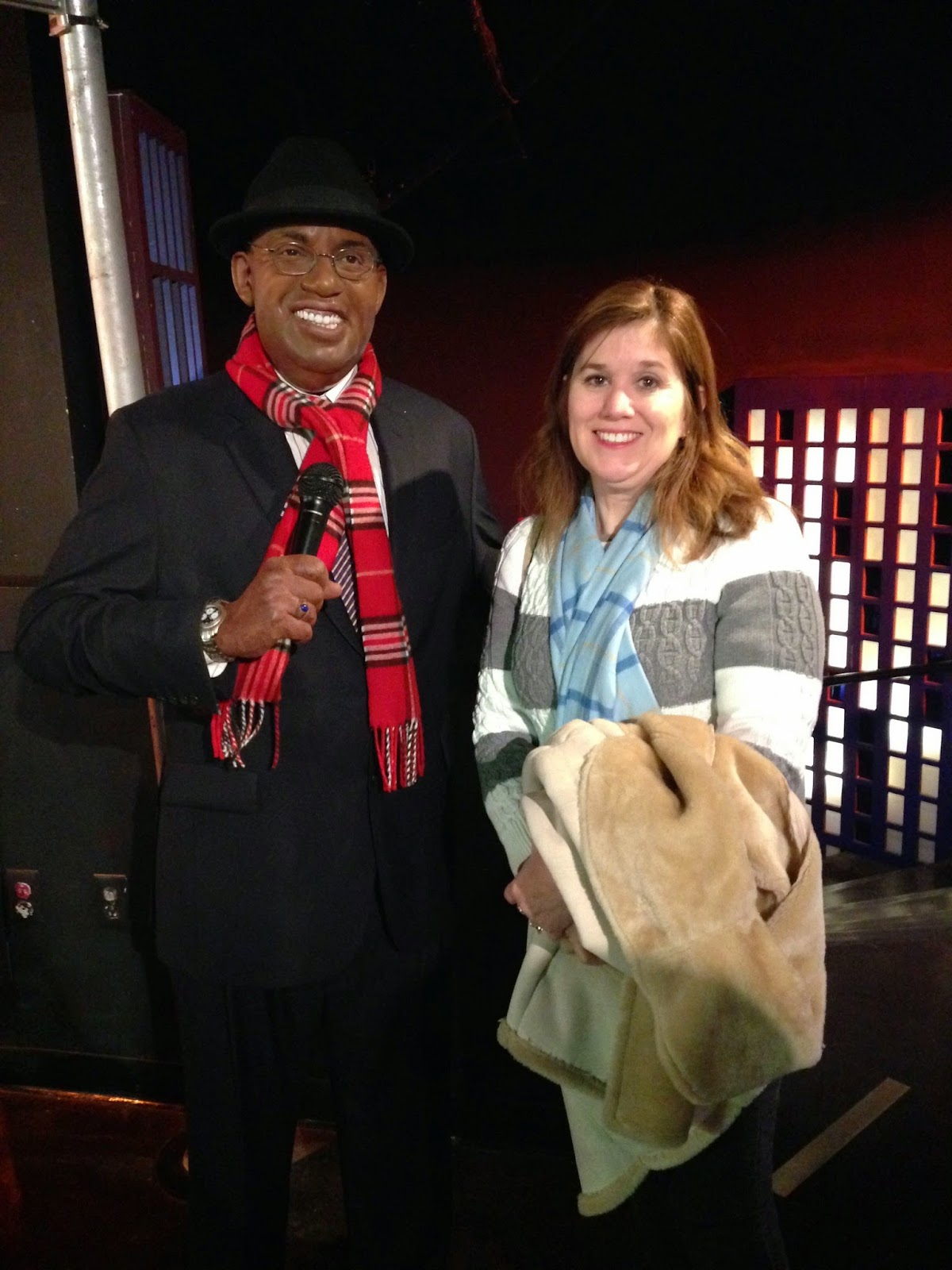 My mom with Al Roker
