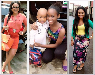 mercy aigbe son