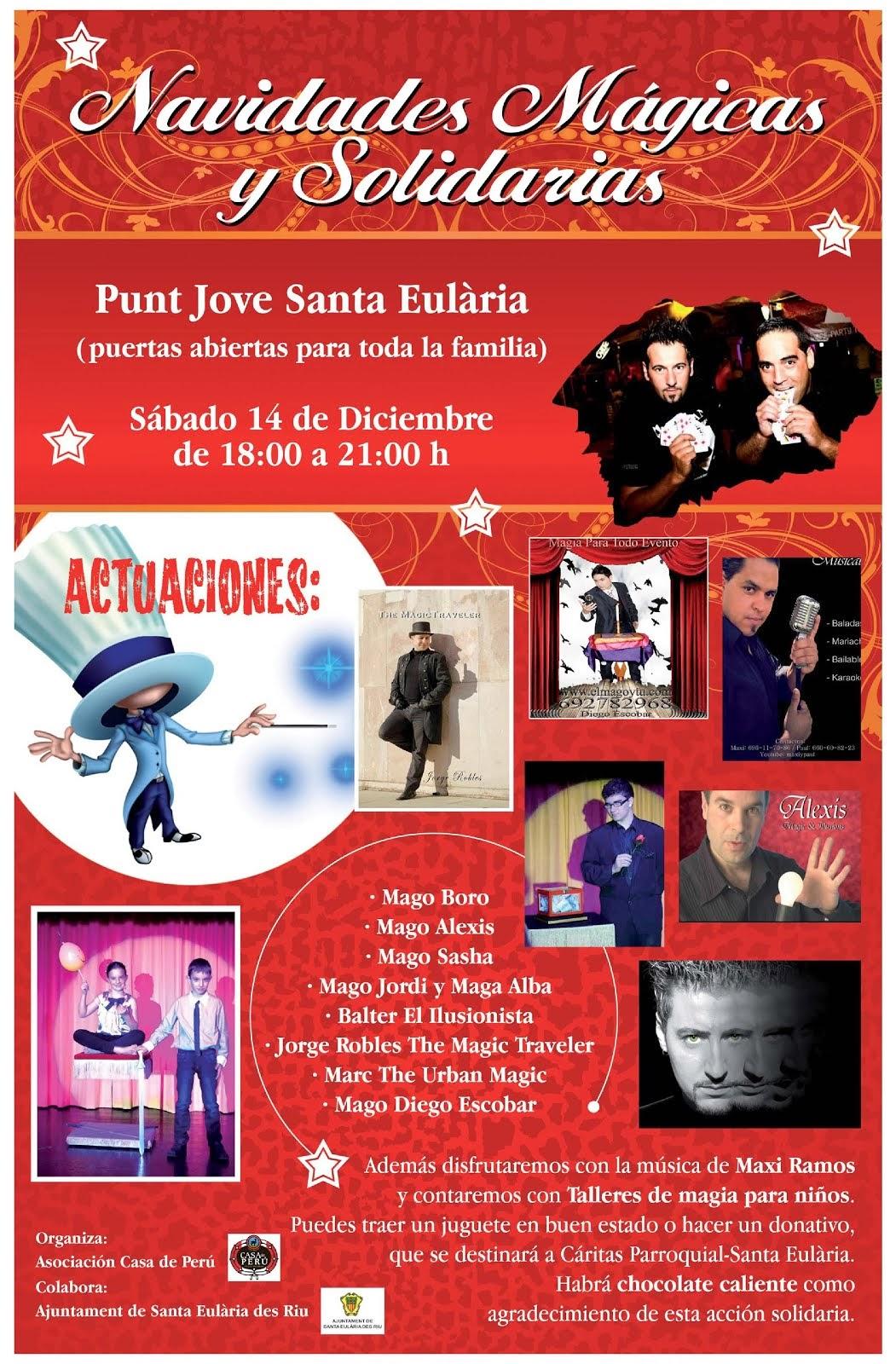 Navidades Mágicas y Solidarias 2013