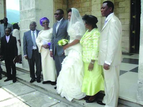 pastor Kumuyi's son's wedding