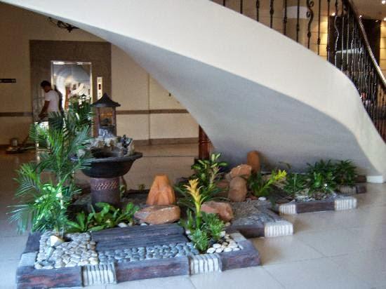 Desain taman kering | mengoktimalkan lahan sempit | desain sederhana namun tetap menawan