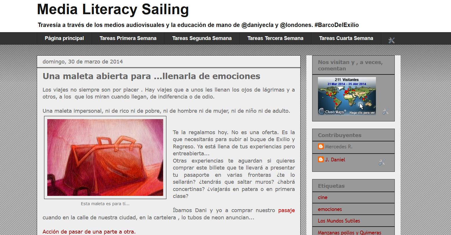 Media Literacy Sailing...
