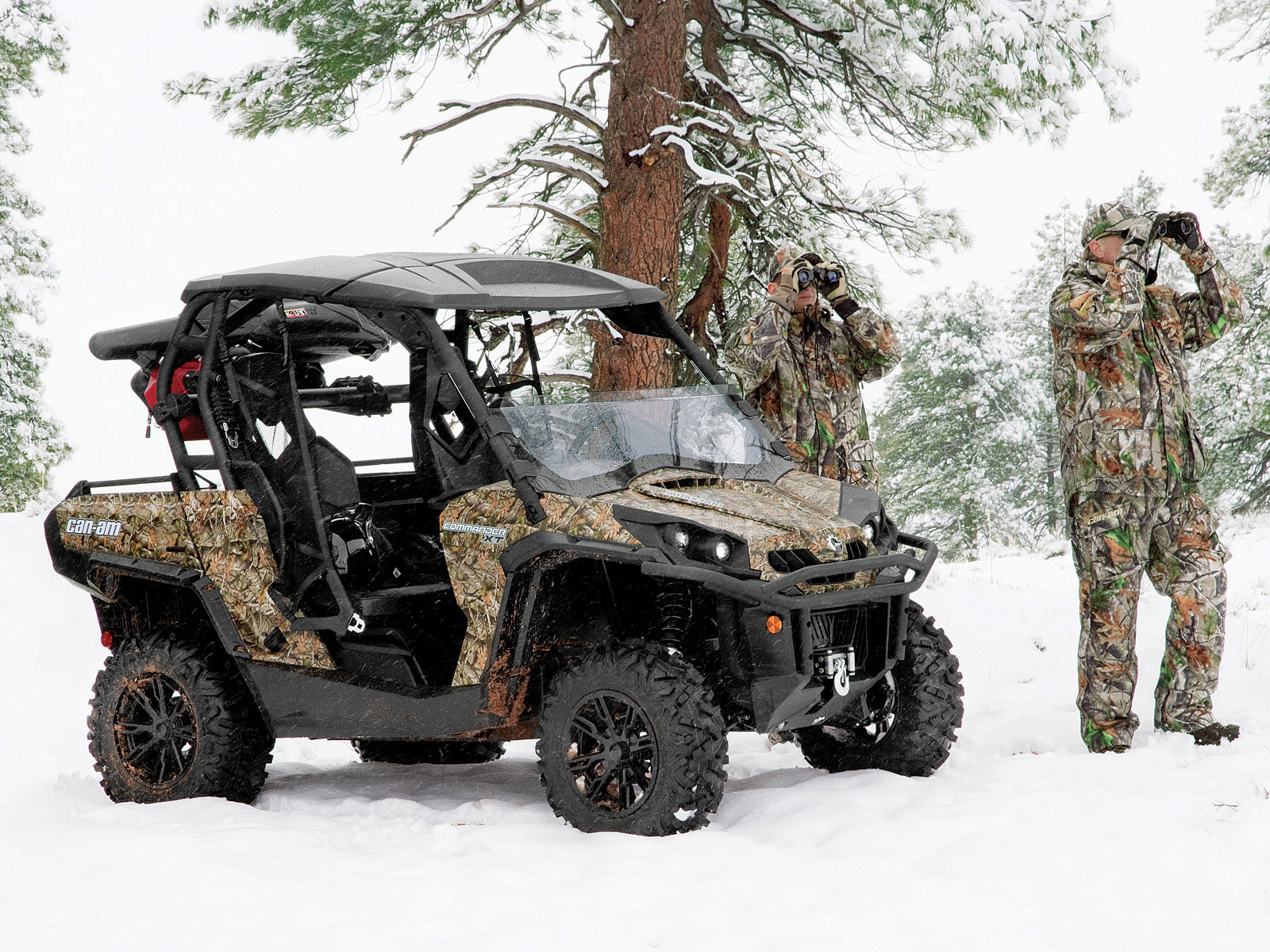 2012 Can-Am Commander 800R XT ATV pictures 1