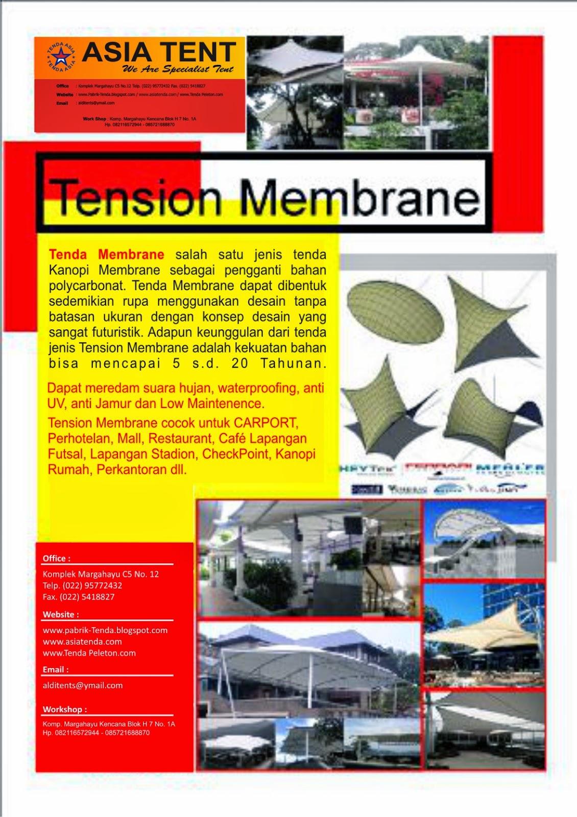 pabrik tenda membrane