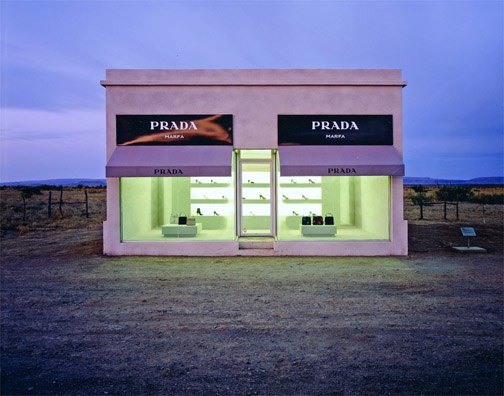 fashion affairs prada marfa. Black Bedroom Furniture Sets. Home Design Ideas