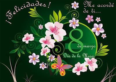 Dia de la Mujer 8 de Marzo
