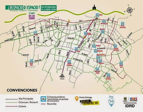 segundo día sin carro en Bogotá 2