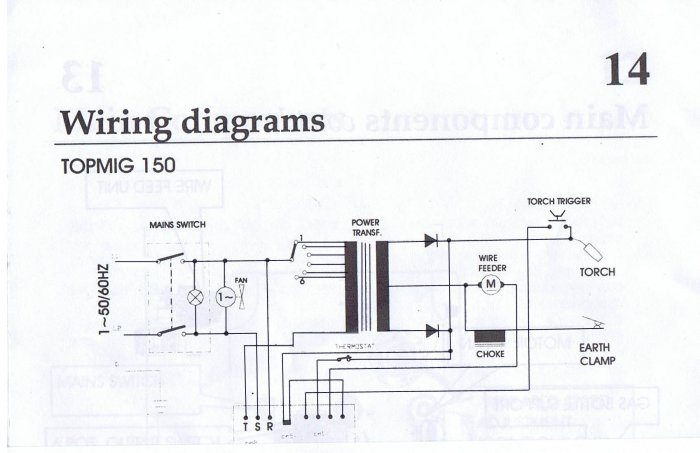 Electronic Hobby Circuits  Mig Welding Circuit Diagram
