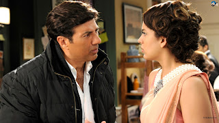 I Love new year wallpapers,photos,pictures,pics with sunny deol,kangana ranaut