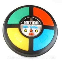 simon toy orriginal 80s concept light memory game